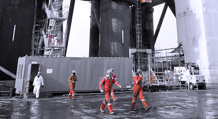 offshore scaffolding